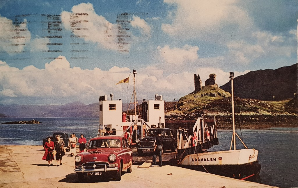 The Skye Ferry, Kyleakin
