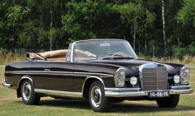 1960s Mercedes 300 SE