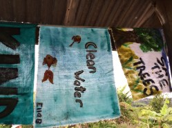 Ecological prayer flags