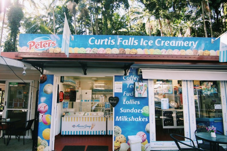 Curtis Falls Ice Creamery Gold Coast