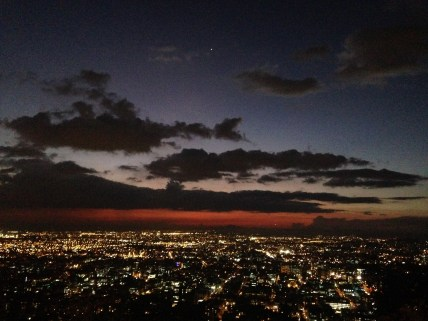 Bogotá at night from above #nofilter