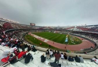 Fishbowl of the whole stadium