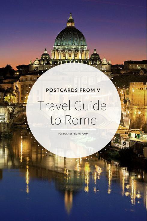 Pinterest, Rome, travel guide, postcards from v
