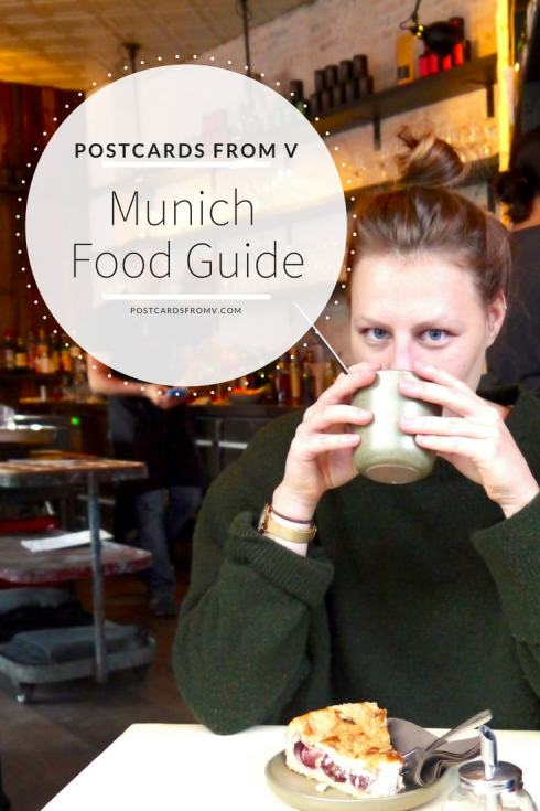 pinterest, munich, food guide, postcards from v