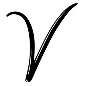 Postcards from V, Logo, Travel Blog