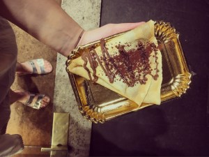Rome, Italy, Itinerary, Food, Crepe
