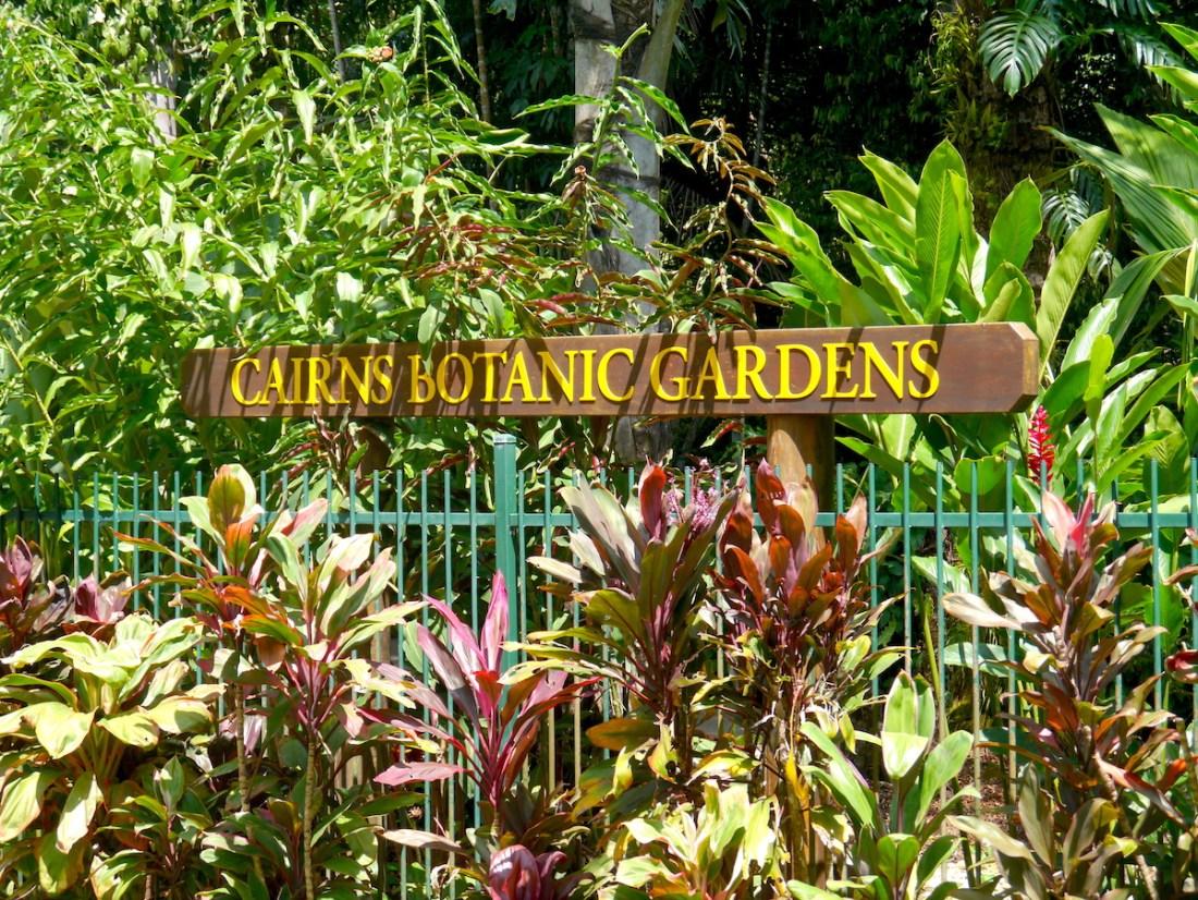 Australia, Cairns Botanic Gardens