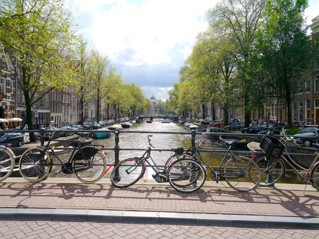 Amsterdam, City Guide, Canals, Bikes, Sunny Weather