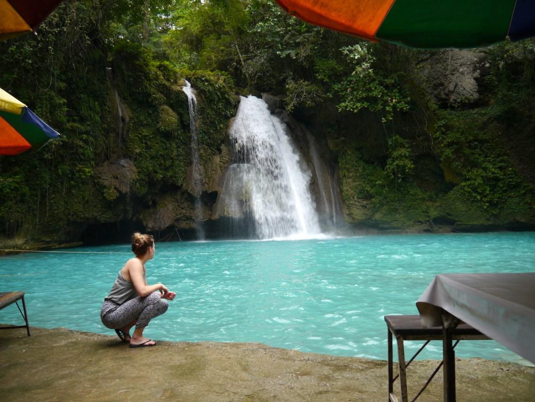 Cebu, Philippines, Itinerary, Kawasaki Falls, Blue Water