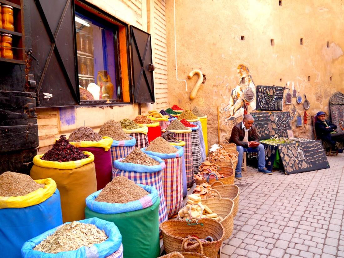 Solo Guide, Marrakech, Morocco, Souks, Spices