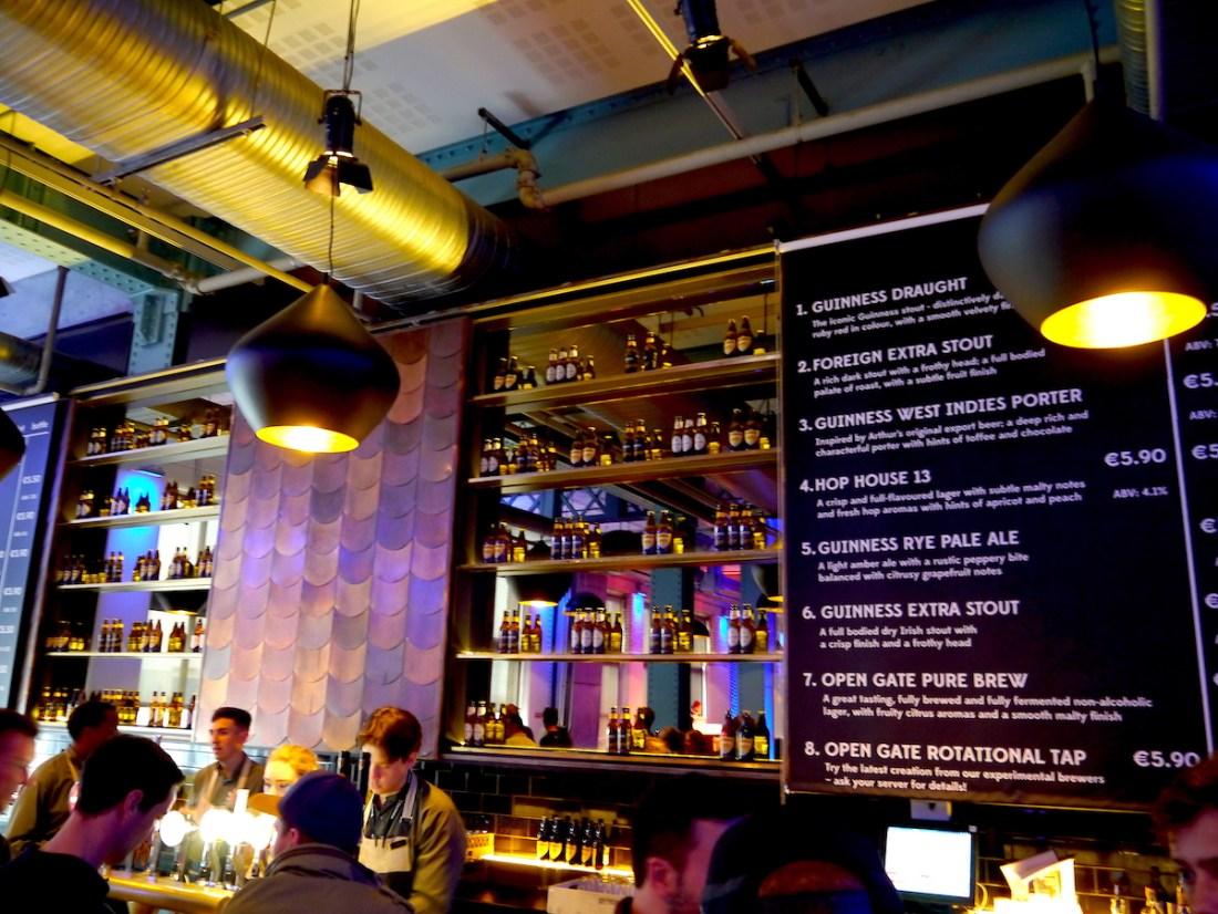 Dublin, City Guide, Guinness Storehouse, Bar