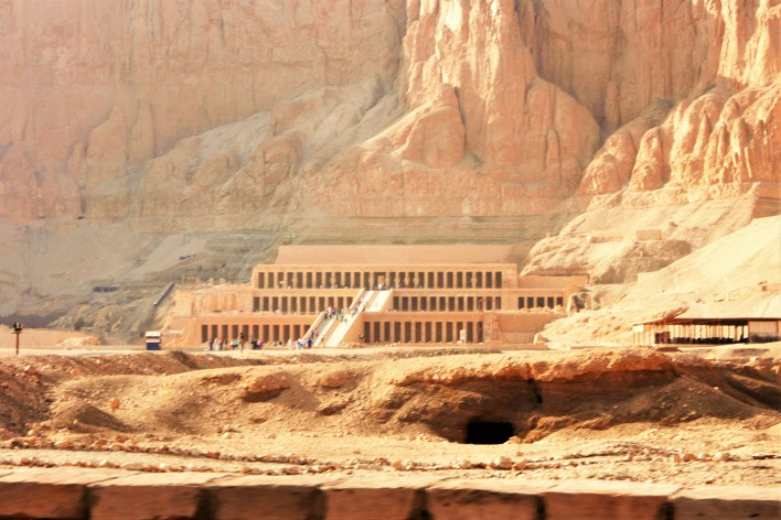 "The Temple of Hatshepsut was known to the ancient Egyptians as ""Holy of Holies"", and have taken 15 years to complete."