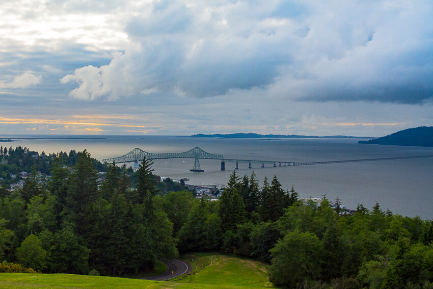 what to do in the charming town of Astoria column