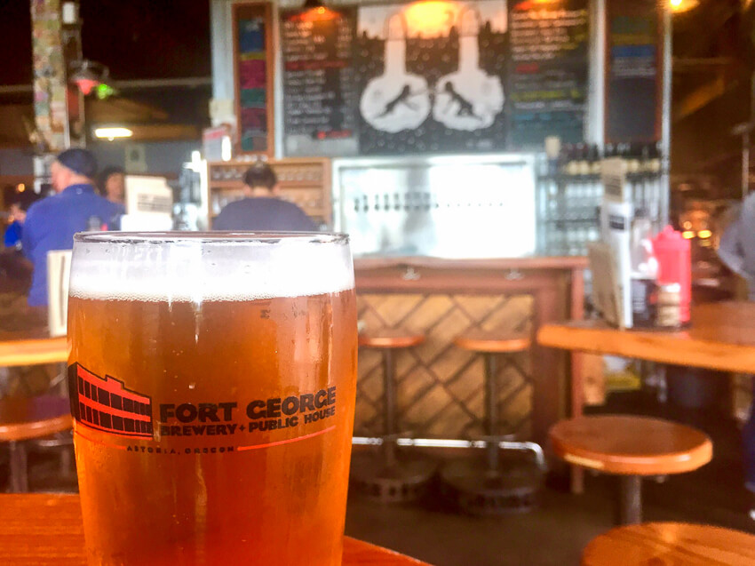 what to do in the charming town of Astoria Fort George Brewery