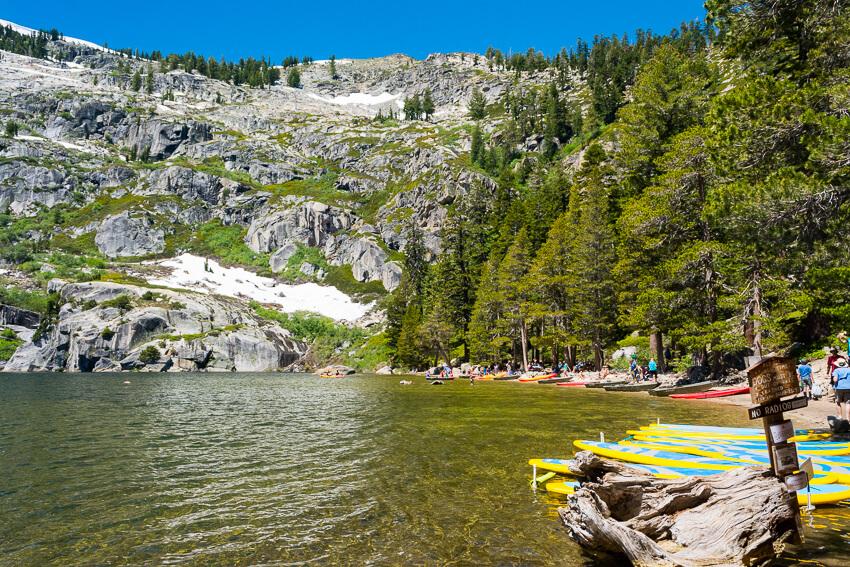 summer lake tahoe angora lake