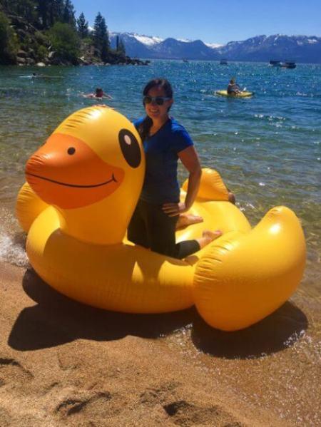 summer lake tahoe duck