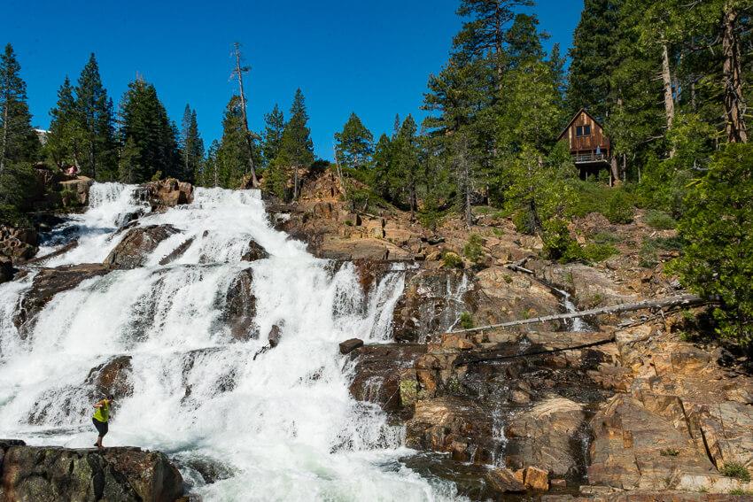 summer lake tahoe glen alpine falls