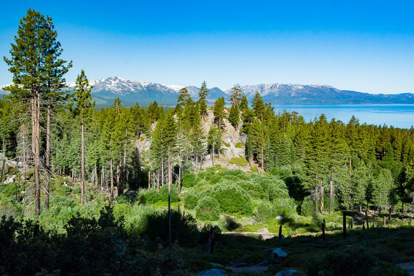 summer lake tahoe van sickle