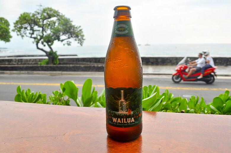 diving kona coast hawaii beer