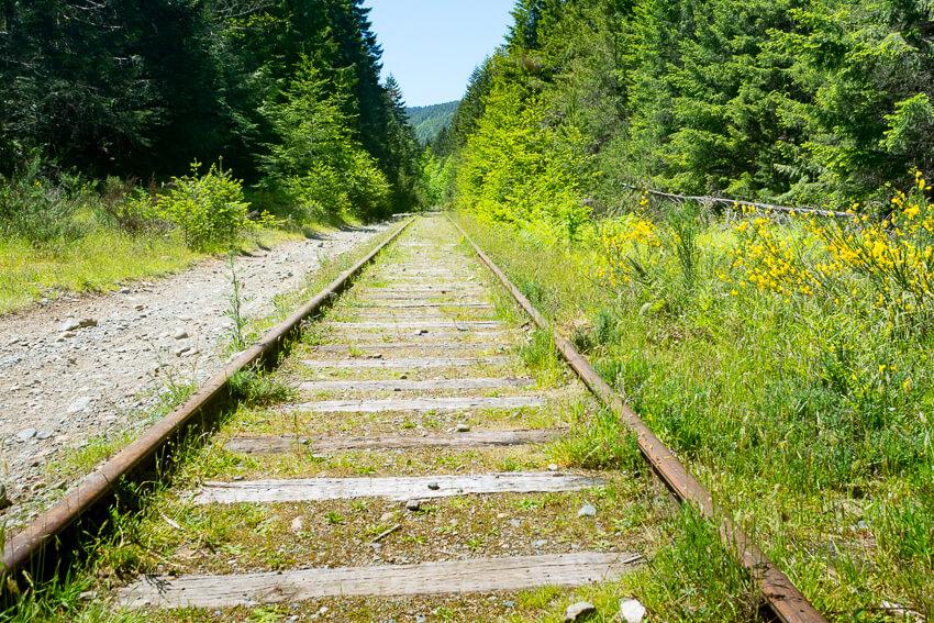drive vancouver island railway