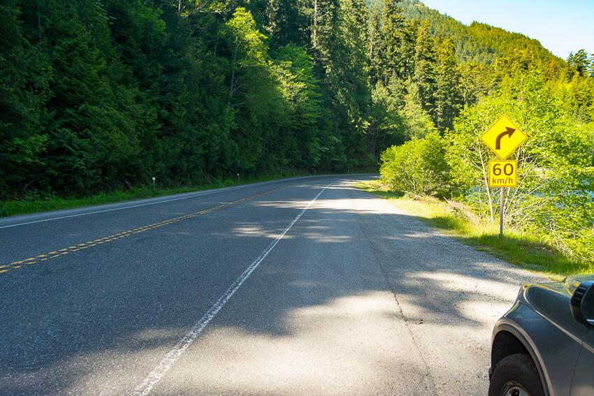 drive vancouver island road trip