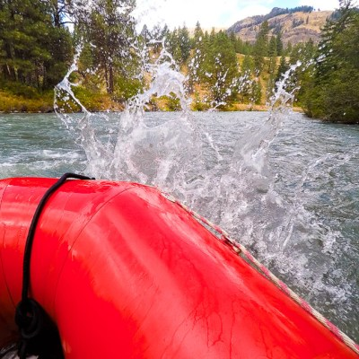 Whitewater Rafting on the Tieton River