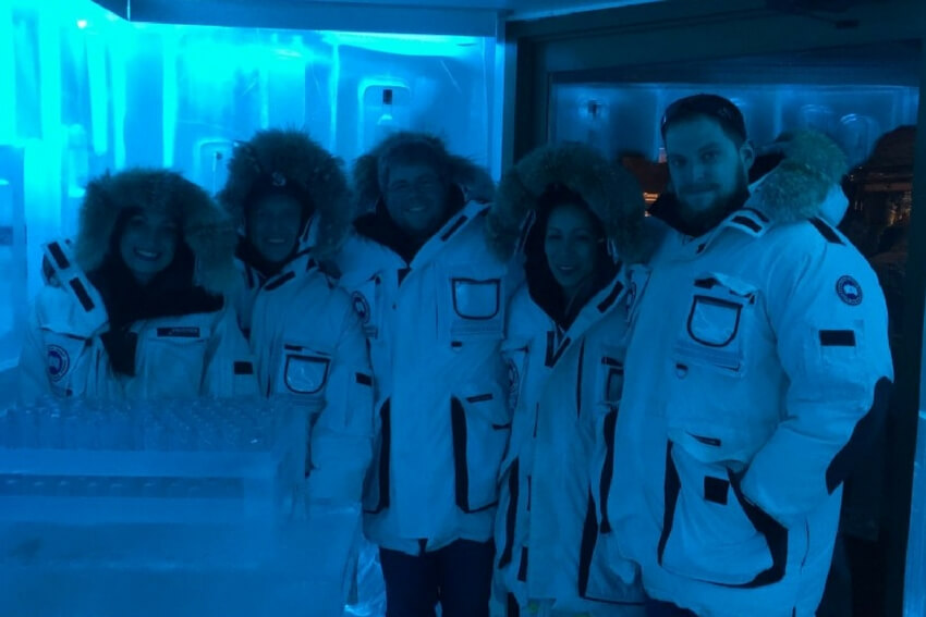 things to do in whistler ice bar