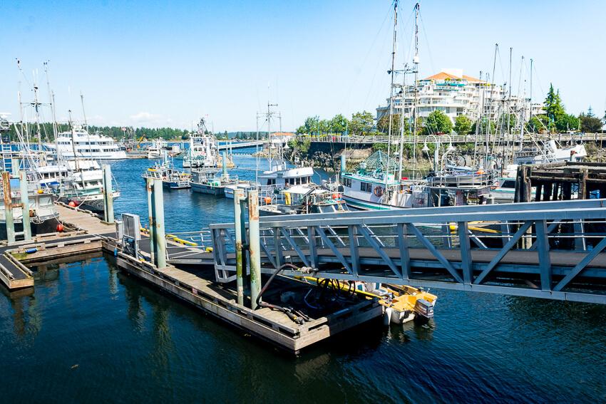 vancouver island seaplane pier