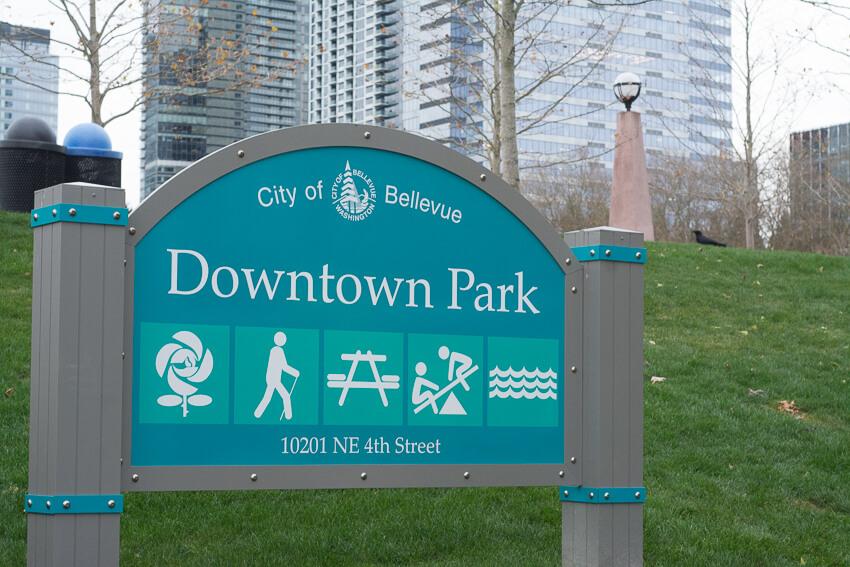 weekend in bellevue downtown park