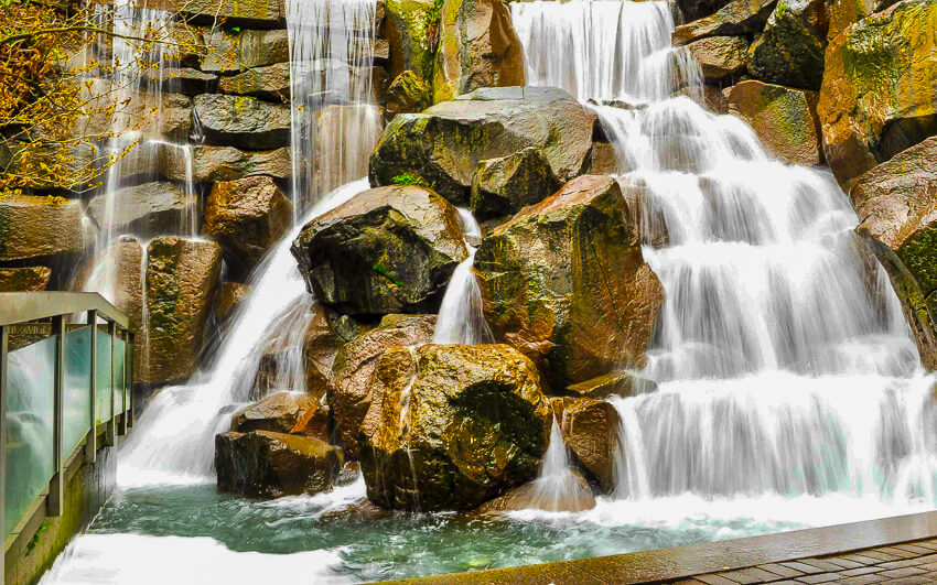 top instagrammable spots waterfall garden