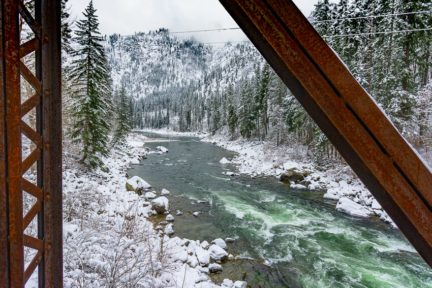 leavenworth in the winter