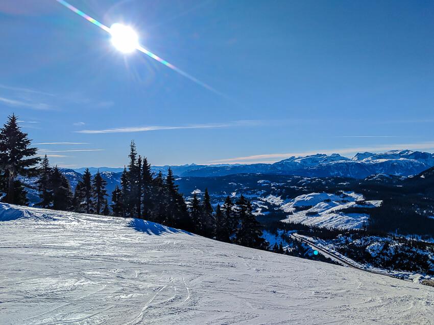 vancouver island skiing