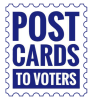 Postcards to Voters logo