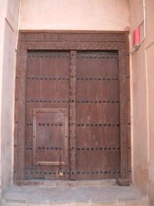 Traditional Arab Door