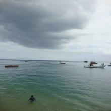 Stone Town: cloudy day