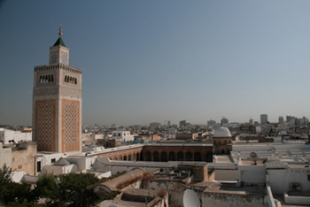 City view with Minaret