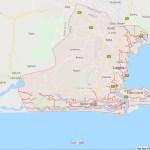 Map of Lagos city: postcode.com.ng
