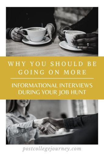 Why are informational interviews important to your job hunt | what are the benefits of going on informational interviews