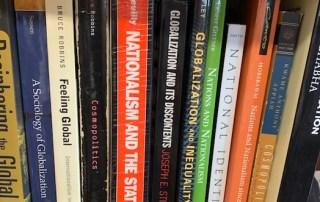Books in a bbokshelf