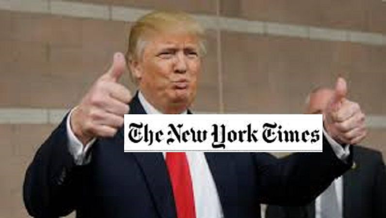 The New York Times: ¿Adversario o cómplice de Trump?