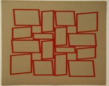 Metaesquema 1958 52,5 x 63,9 cm