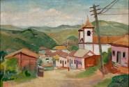Paisagem de Sabará – Alberto da Veiga Guignard