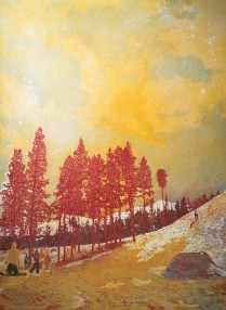 Orange Sunshine 1995-96 Oil on canvas 276 x 201 cm