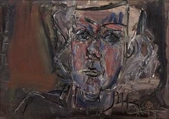 Iberê Camargo, Maria, 1984 óleo sobre tela 55 x 78 cm col. Maria Coussirat Camargo Fundação Iberê Camargo, Porto Alegre