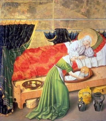 Albrechtsmeister - Tafel des Albrechtsaltars 1438-1440 Klosterneuburg
