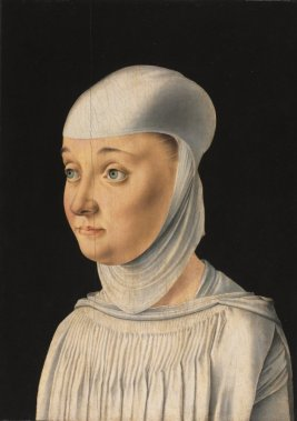 Noble woman in smock, c. 1490 Italy