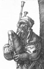 Musician wearing a chaperon, 1514