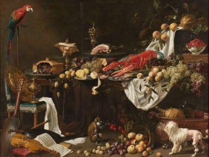 Banquet Still Life, Adriaen van Utrecht, 1644