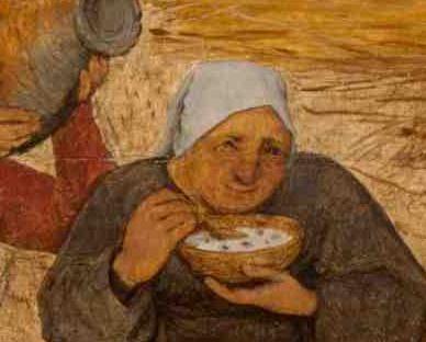 Peasant woman in a veil, 1565