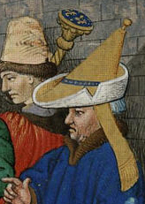 Nobleman in bycoket c. 1470.